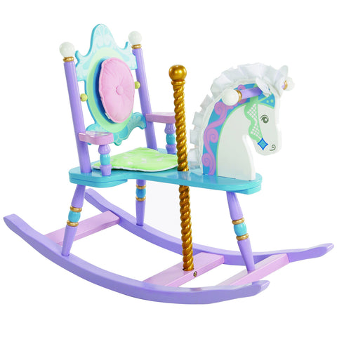 Levels of Discovery Carousel Rocking Horse - RAB20003 -  Levels of Discovery Furniture - Nurzery.com