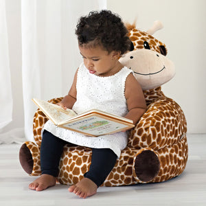 Trend Lab® - Children's Plush Giraffe Character Chair