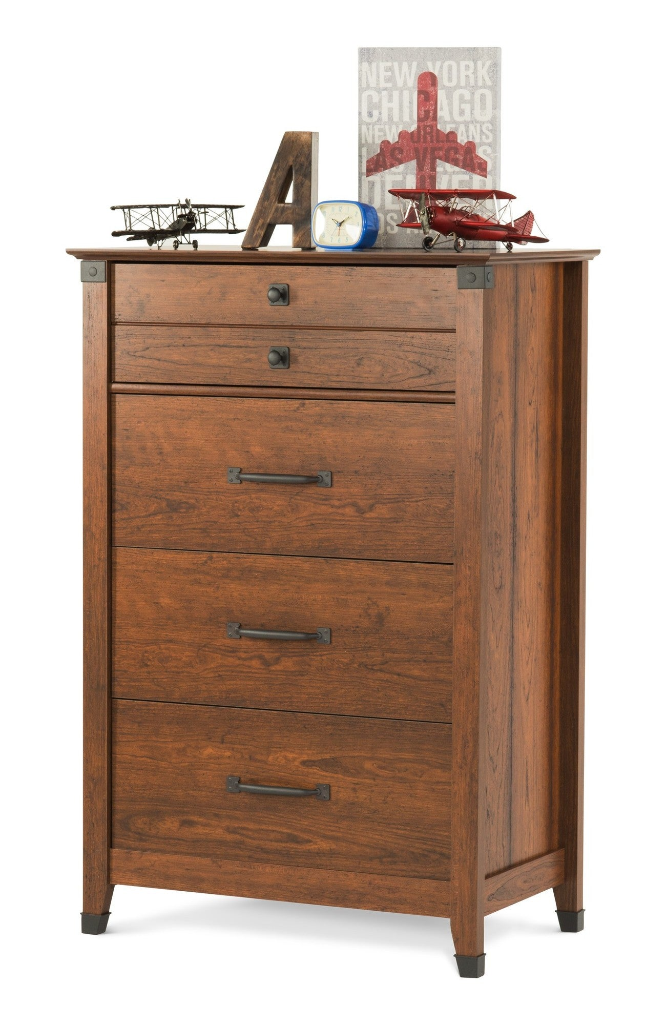modern drawer dresser four furniture copeland more cherry mansfield bedroom by