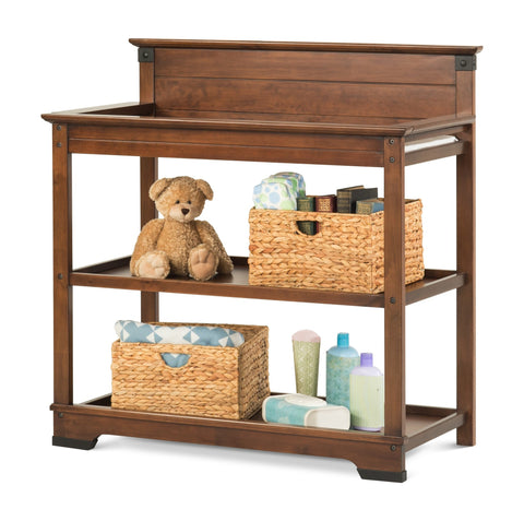 Child Craft Redmond Changing Table Coach Cherry F02816.06 -  Child Craft Nursery Furniture - Nurzery.com - 1