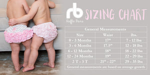 Ruffle Buns Diaper Cover - I Pink I Can
