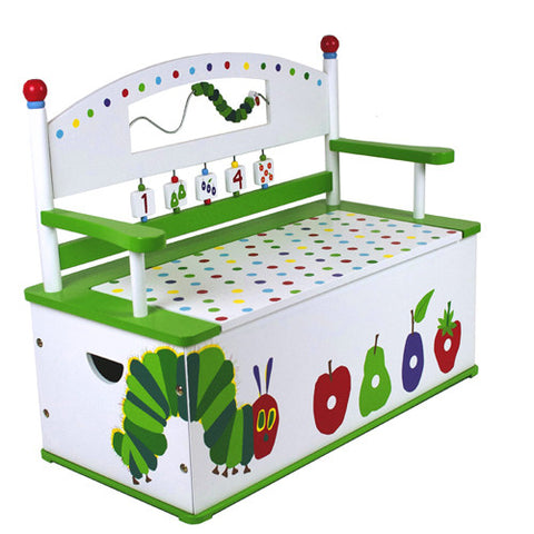 Levels of Discovery Very Hungry Caterpillar Bench Seat w/ Storage - S102 -  Levels of Discovery Furniture - Nurzery.com