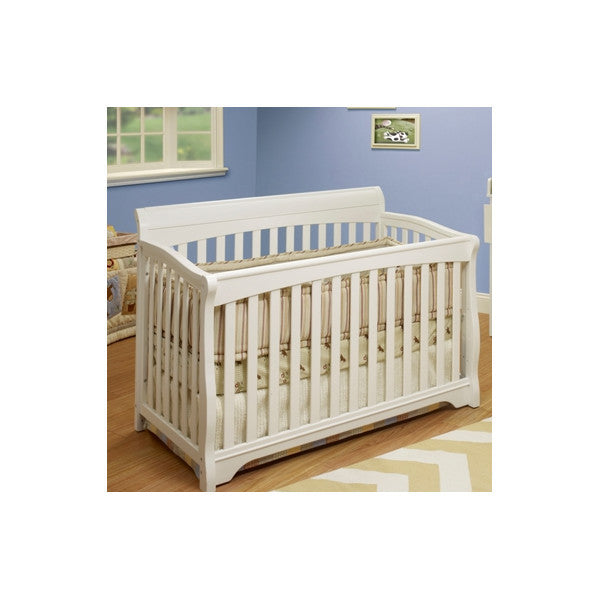 sorelle sb2 florence convertible crib white sb2 all cribs nurzerycom 4 - Sorelle Cribs