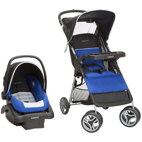 Cosco Lift & Stroll Travel System (Colorblock Surf the Web) - TR355DYH