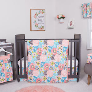 Waverly Baby by Trend Lab® - Blooms - 5 Piece Crib Bedding Set