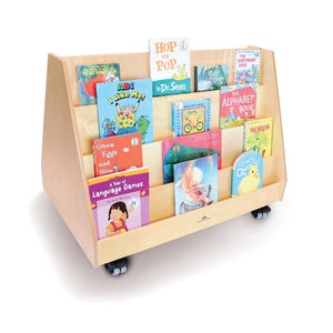 Whitney Brothers Two Sided Book Display Stand WB0139