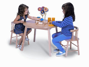 Whitney Brothers Table and Two Chair Set WB0180 -  Whitney Bros Children's Table & Chair Set - Nurzery.com