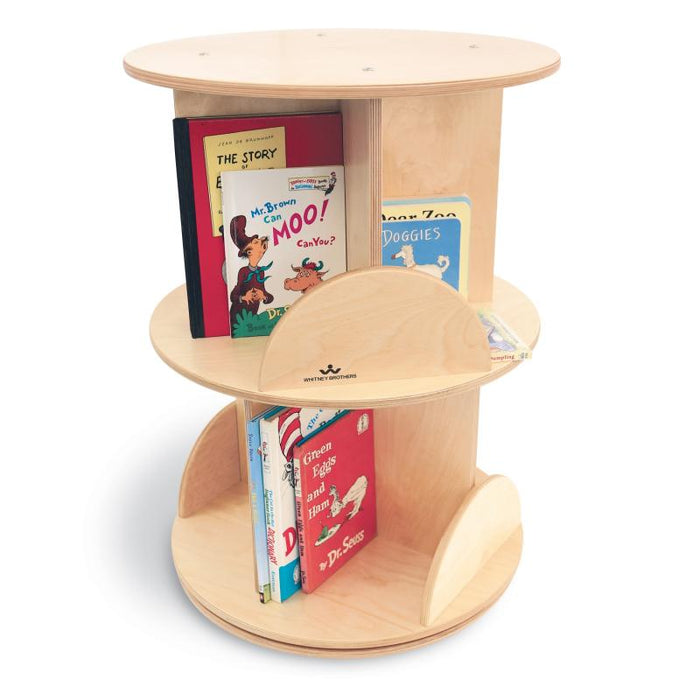 Whitney Brothers Two Level Carousel Book Stand WB0502R