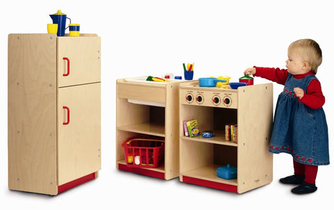 Whitney Brothers Toddler Stove WB0725 -  Whitney Bros Children's Play Housekeeping Furniture - Nurzery.com