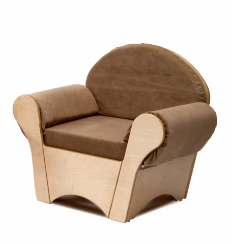Whitney Brothers Child's Easy Chair - Tan WB0845 -  Whitney Bros Children's Chair - Nurzery.com