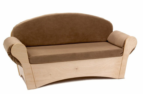Whitney Brothers Child's Easy Sofa - Tan WB0850 -  Whitney Bros Children's sofa - Nurzery.com