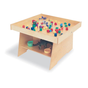 Whitney Brothers-Big Wide Discovery Table- Natural UV-WB1606