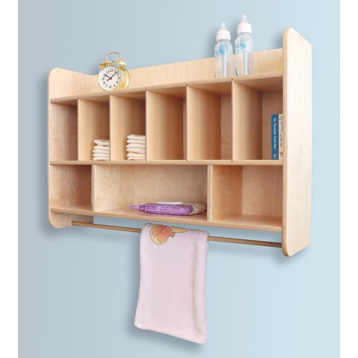 Whitney Brothers - Hang On The Wall Diaper Unit - WB4646