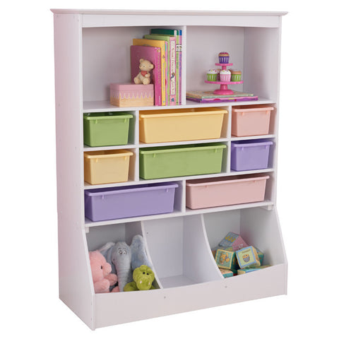 Guidecraft book and bin storage g6455 Large toy storage ideas
