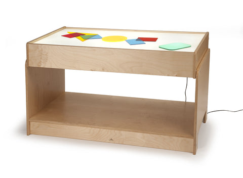 Whitney Brothers Big Big Light Table WB0742 -  Whitney Bros Light Table - Nurzery.com - 1