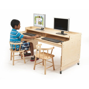 Whitney Brothers Adjustable Computer Desk WB0483 -  Whitney Bros Computer desk - Nurzery.com