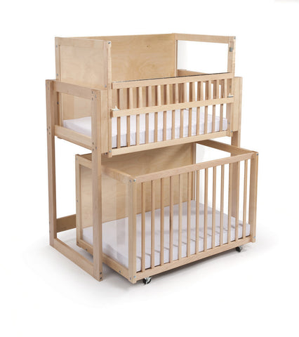 Whitney Brothers Space Saver Two Level  Crib WB9920 -  Whitney Bros Infant Crib - Nurzery.com - 1