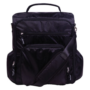 Trend Lab® -  Black Convertible Backpack Diaper Bag
