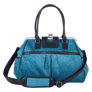 Waverly Baby by Trend Lab® -  Stetson Lagoon Framed Diaper Bag