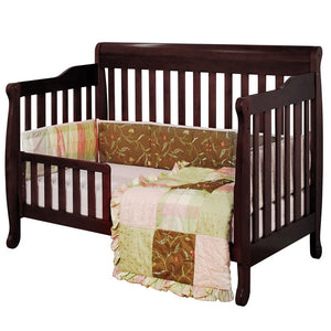 AFG Furniture International Alice 4-in-1 Sleigh Convertible Crib - 4689 - Espresso AFG Furniture International All Cribs - Nurzery.com - 2
