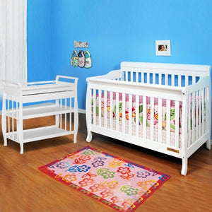 AFG Furniture International Alice 4-in-1 Sleigh Convertible Crib - 4689 -  AFG Furniture International All Cribs - Nurzery.com - 6