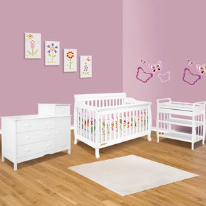 AFG Furniture International Alice 4-in-1 Sleigh Convertible Crib - 4689 -  AFG Furniture International All Cribs - Nurzery.com - 7