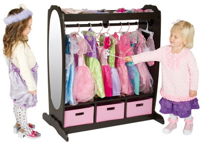 Guidecraft Dress Up Storage Espresso - G98099 - Default Title Guidecraft Toys - Nurzery.com