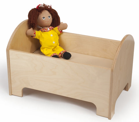 Whitney Brothers Doll Bed WB0246 -  Whitney Bros Imaginative Play - Nurzery.com