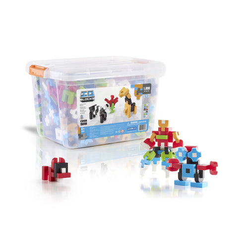 Guidecraft IO Blocks™ 1000 Piece Education Set - G9603 - Default Title Guidecraft Toys - Nurzery.com