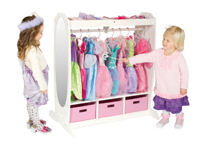Guidecraft Dress Up Storage White - G98098 - Default Title Guidecraft Toys - Nurzery.com