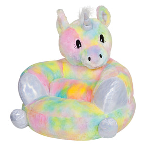 Trend Lab® - Children's Plush Rainbow Unicorn Character Chair