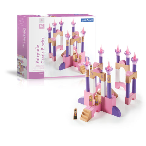 Guidecraft Fairytale Castle Blocks - G9800 - Default Title Guidecraft Toys - Nurzery.com