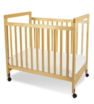 Foundations SafetyCraft Fixed-Side, Clearview Crib 1632040 -  Foundations All Cribs - Nurzery.com - 1