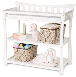 Child Craft Parisian Changing Table F02316 - Matte While Child Craft Nursery Furniture - Nurzery.com - 1