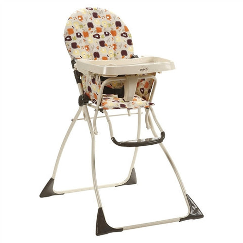 Cosco Flat Fold High Chair -  Cosco High Chairs & Boosters - Nurzery.com