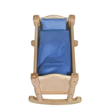 Guidecraft Doll Cradle Natural - G98112 - Default Title Guidecraft Toys - Nurzery.com