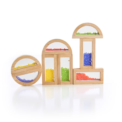 Guidecraft Rainbow Blocks Crystal Bead - G3012 - Default Title Guidecraft Toys - Nurzery.com