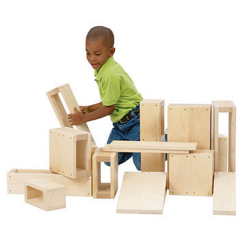 Guidecraft Jr. Hollow Blocks - G97080 - Default Title Guidecraft Toys - Nurzery.com