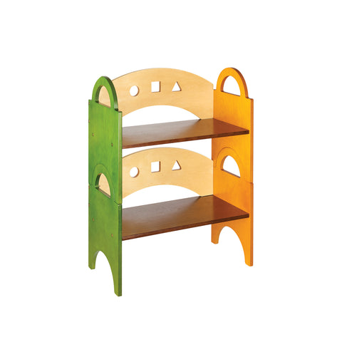 Guidecraft See and Store Stacking Bookshelf - G98304 - Default Title Guidecraft Toys - Nurzery.com