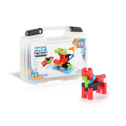Guidecraft IO Blocks™ 59 Piece Travel Set - G9604 - Default Title Guidecraft Toys - Nurzery.com