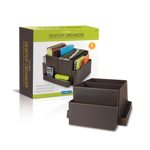 Guidecraft Folding Desk Organizer - Brown - G6521 - Default Title Guidecraft Toys - Nurzery.com