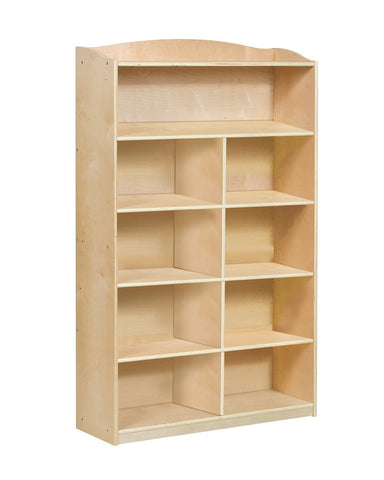 "Guidecraft Sgl Side Bookcase-60""H - G97014 - Default Title Guidecraft Toys - Nurzery.com"