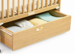 Foundations SafetyCraft Fixed-Side, Slatted crib 1631040 -  Foundations All Cribs - Nurzery.com - 2