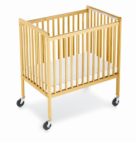 Foundations SafetyCraft Fixed-Side, Slatted crib 1631040 -  Foundations All Cribs - Nurzery.com - 1