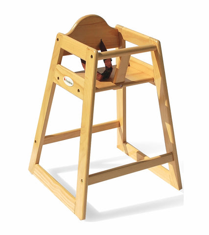 Foundations Classic Wood High Chair in Natural - 4501049 -  Foundations High Chairs & Boosters - Nurzery.com