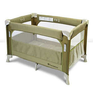 Foundations Sleep Fresh Elite Portable Crib Play Yard Sahara - 1556287 -  Foundations Play Yards - Nurzery.com