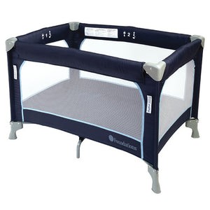 Foundations Sleep 'N Store Play Yard w/ Bassinet Regatta Blue - 2353037 -  Foundations Play Yards - Nurzery.com
