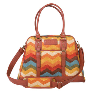 Waverly Baby by Trend Lab® -  Panama Wave Adobe Carryall Diaper Bag