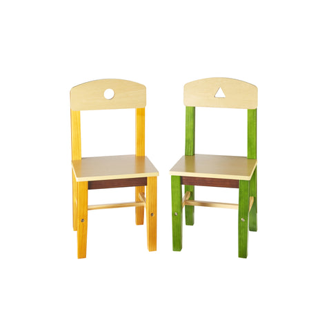 Guidecraft See and Store Extra Chairs (Set of 2) - G98303 - Default Title Guidecraft Toys - Nurzery.com