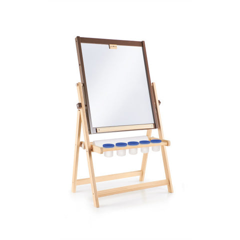 Guidecraft 4-in-1 Flipping Floor Easel - G51110 - Default Title Guidecraft Toys - Nurzery.com